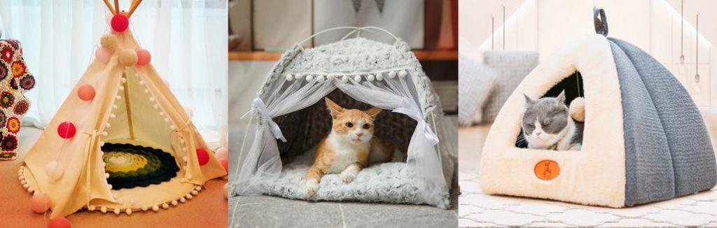 帳篷式貓窩/貓咪帳篷