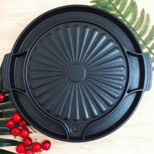 圓形韓國烤肉盤