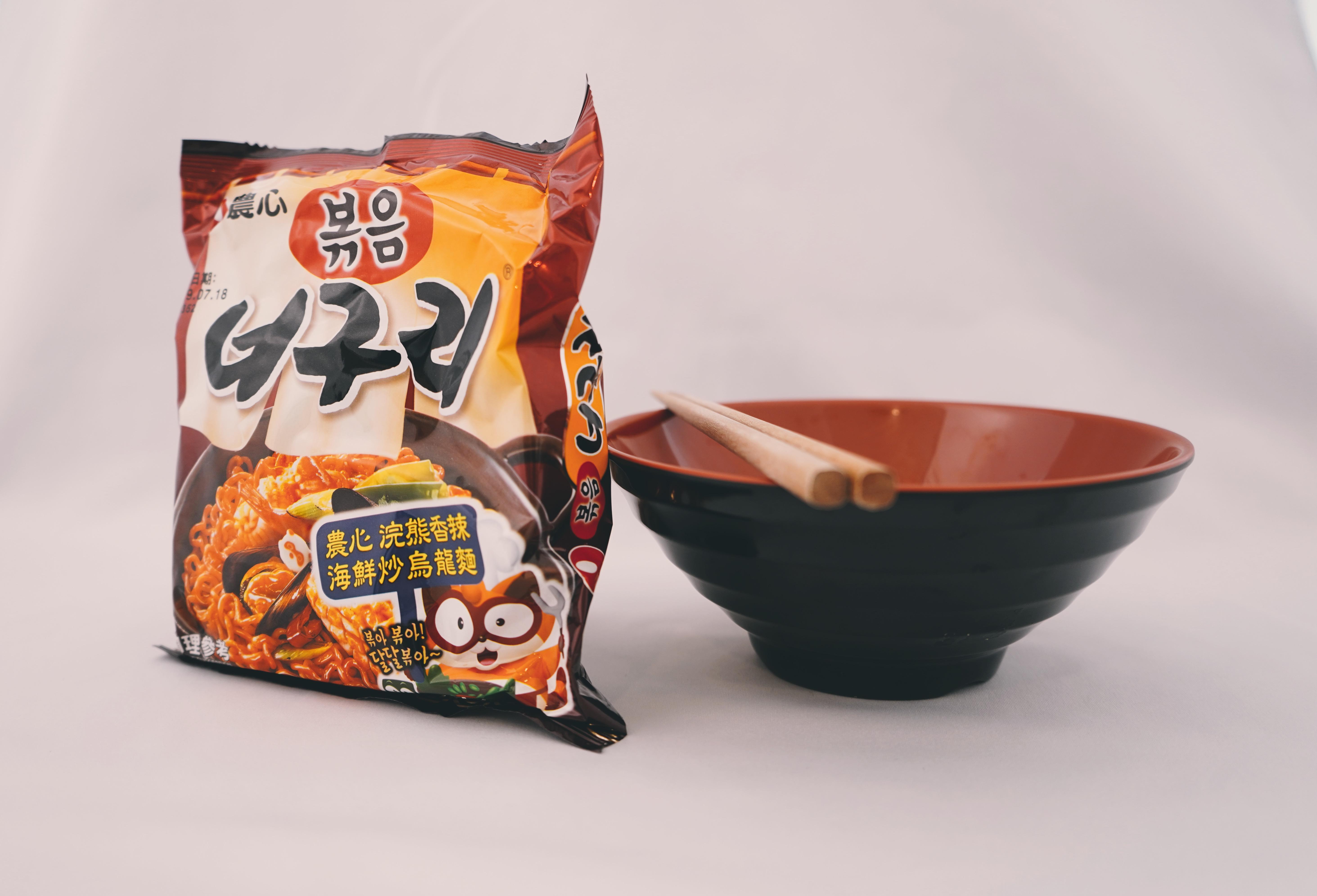 農心 浣熊海鮮炒烏龍麵