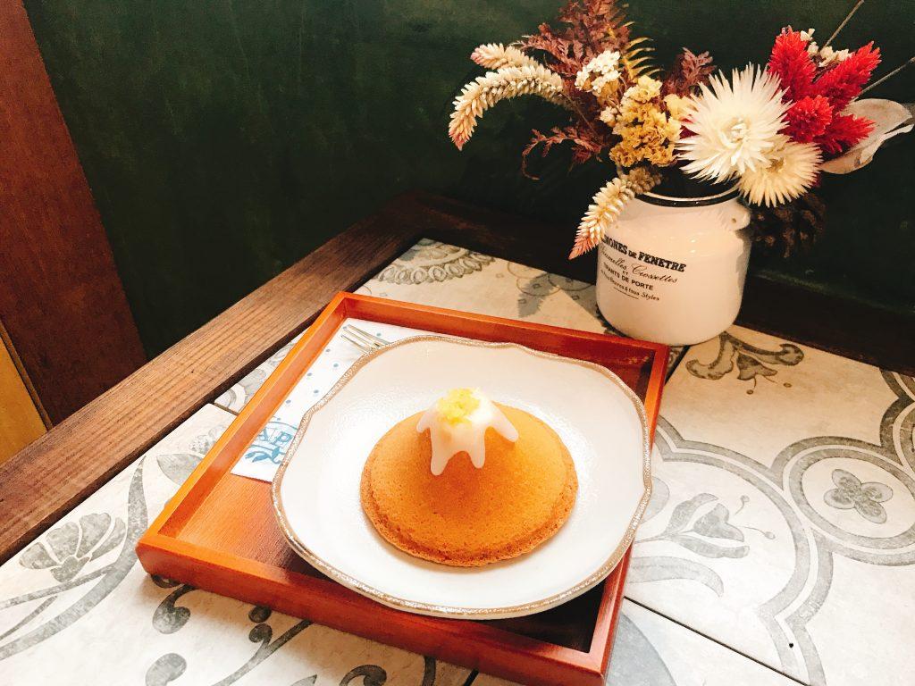 ponpon老奶奶口味檸檬富士山蛋糕