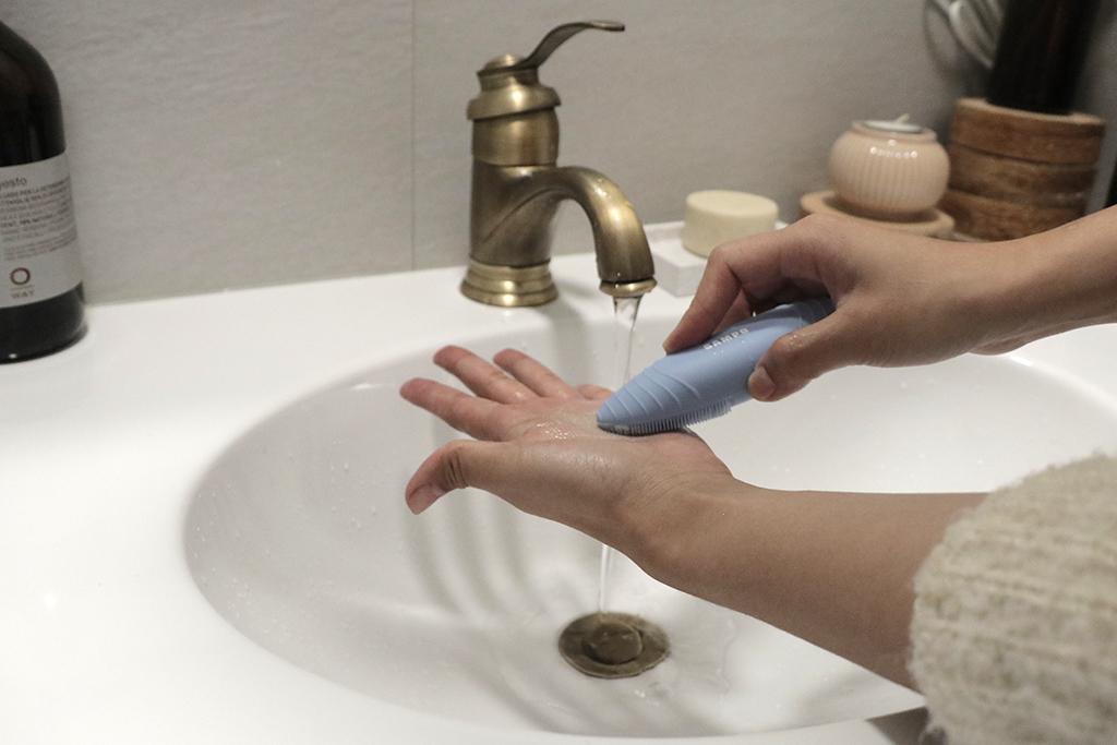 洗臉機用法