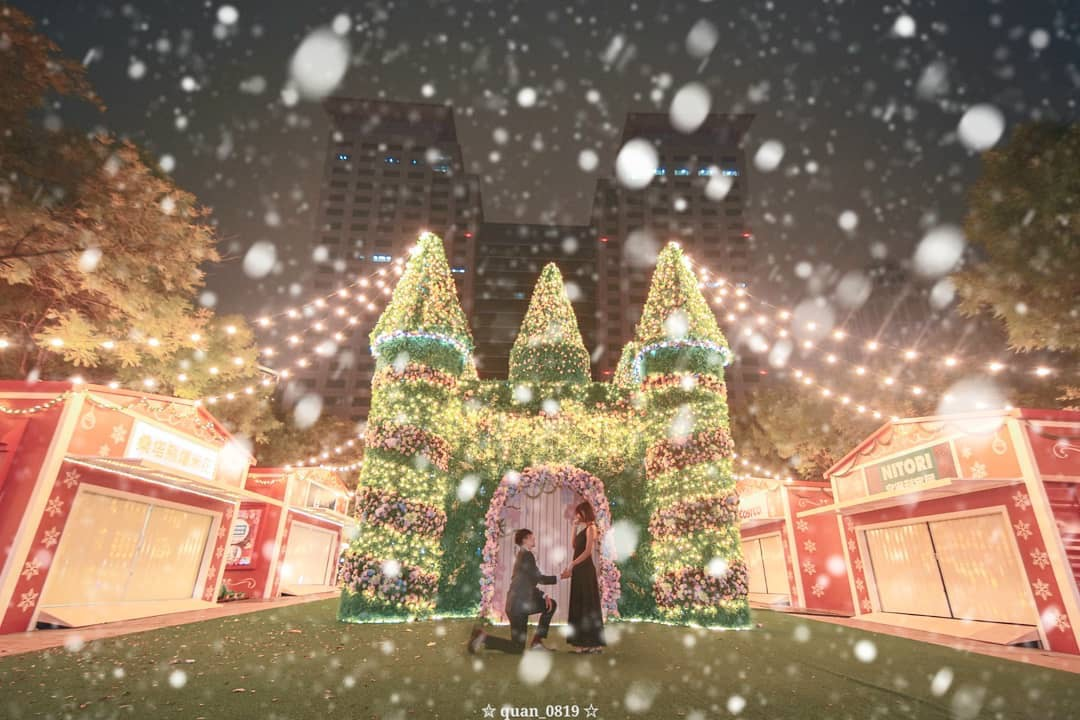 2020-2021 新北歡樂耶誕城 迪士尼城堡