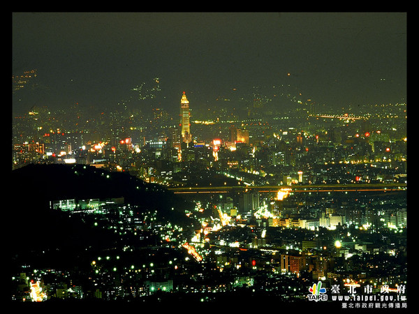 文化大學夜景