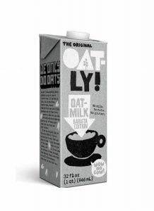 Oatly咖啡師燕麥奶