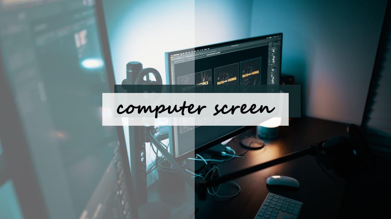 【電腦螢幕推薦&比較】螢幕尺寸規格/解析度怎麼看?螢幕挑選大公開!
